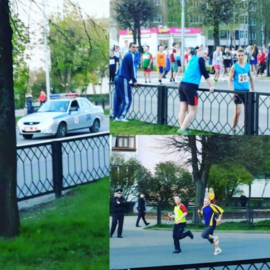 В Новополоцке прошла легкоатлетическая эстафета, посвященная Дню Победы, фото-8