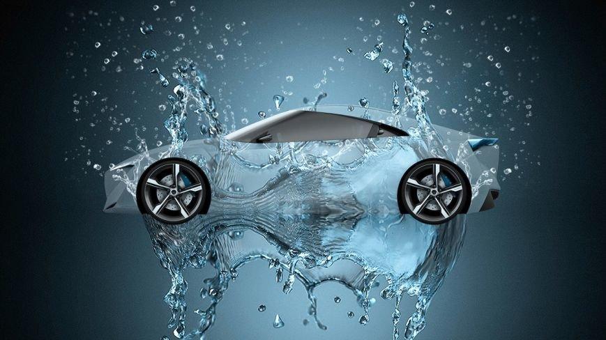 Toyota-FTHS-Hybrid-Crystal-Water-Car