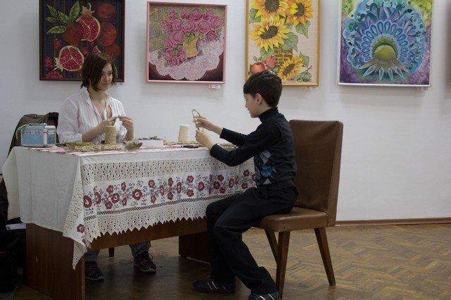 """В Херсоне открылась выставка """"Барви Таврійського краю"""" (Фото), фото-2"""