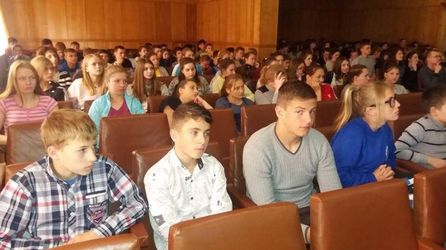 Херсонские студенты и преподаватели встретились со специалистами подразделений по ЧС и Госпогранслужбы, фото-2