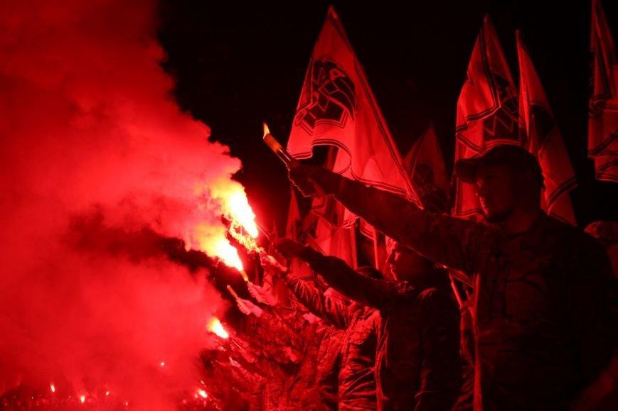В Бердянске прошло праздничное шествие полка АЗОВ, фото-15