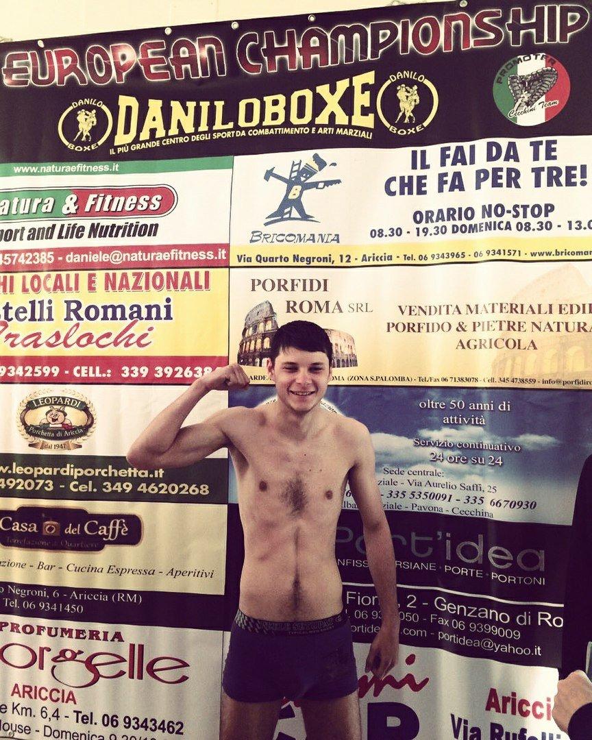 Владислав Микитась прибыл на чемпионат Европы по боевым искусствам в Италию, фото-1