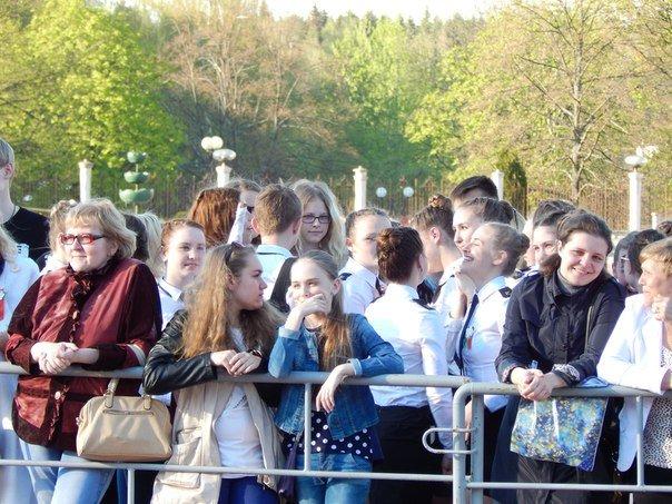 «Победные марши» звучали на главной улице Новополоцка (+ фото), фото-3