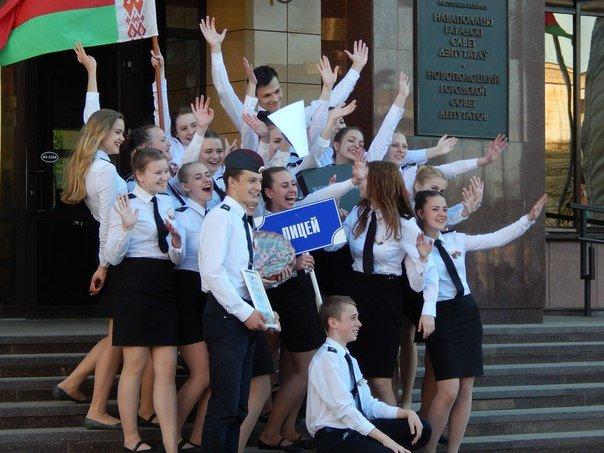 «Победные марши» звучали на главной улице Новополоцка (+ фото), фото-6