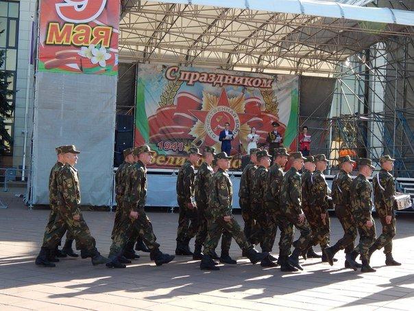 «Победные марши» звучали на главной улице Новополоцка (+ фото), фото-2