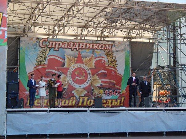 «Победные марши» звучали на главной улице Новополоцка (+ фото), фото-1