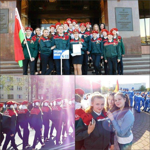 «Победные марши» звучали на главной улице Новополоцка (+ фото), фото-8