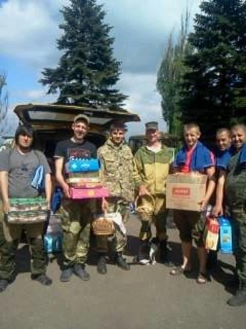 Буковинські волонтери відсвяткували Великдень на передовій(ФОТО), фото-4