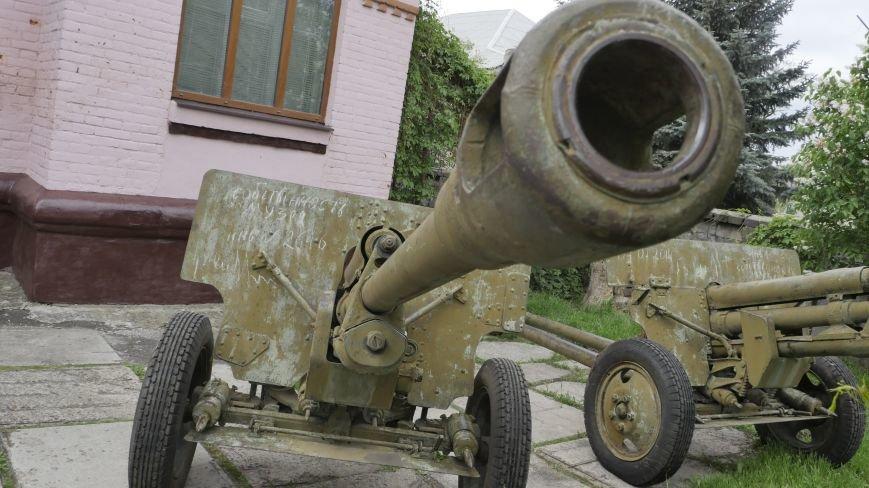 В Славянск вернулись похищенные террористами пушки, фото-3