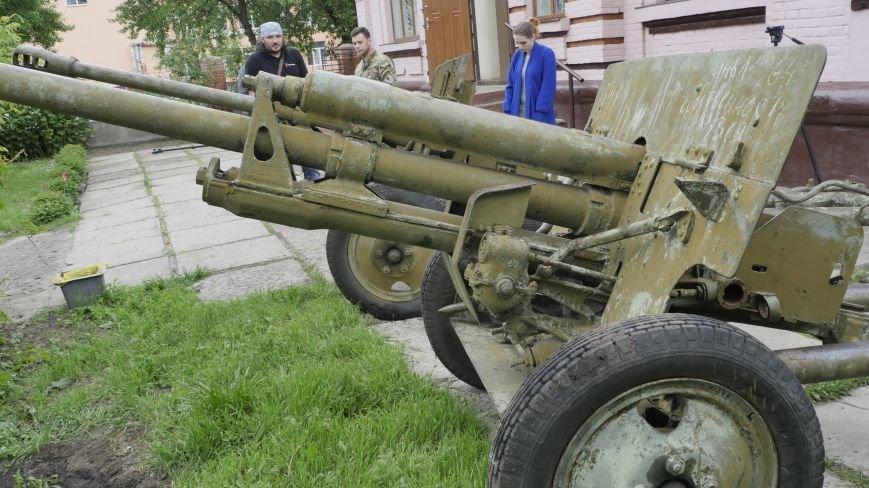 В Славянск вернулись похищенные террористами пушки, фото-2