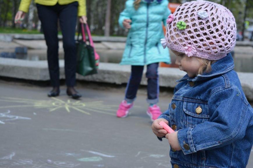 Детский город. Как новополоцкие малыши рисовали от души, фото-19