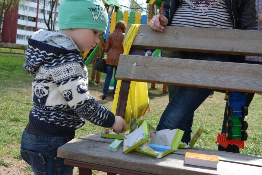 Детский город. Как новополоцкие малыши рисовали от души, фото-2