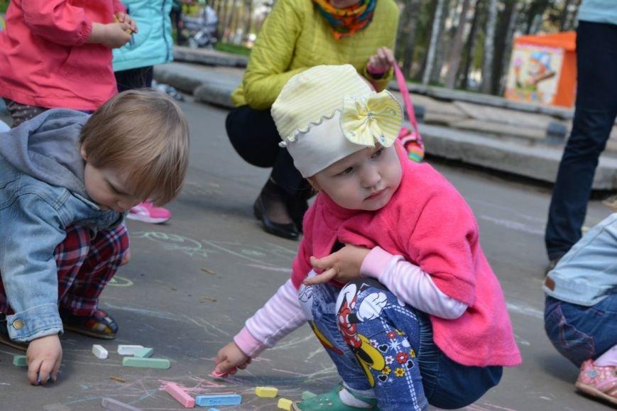 Детский город. Как новополоцкие малыши рисовали от души, фото-12