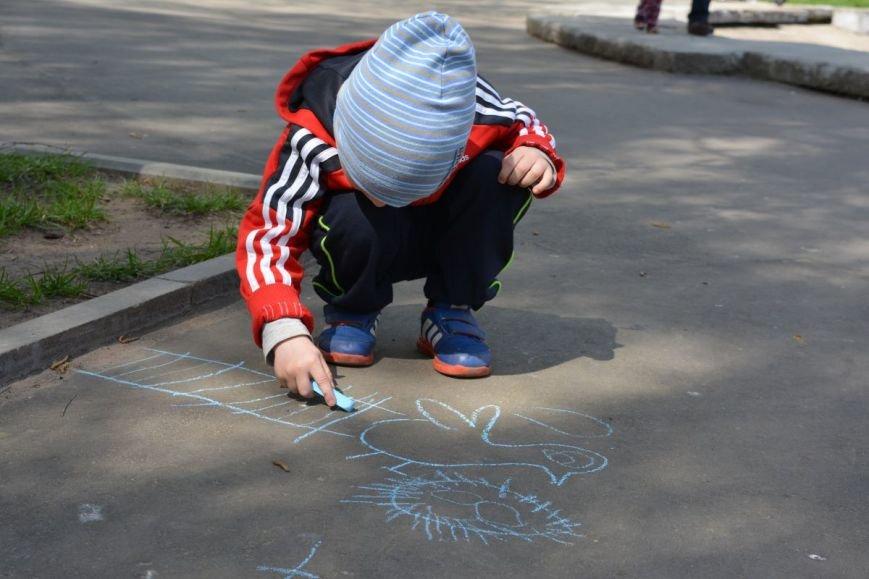 Детский город. Как новополоцкие малыши рисовали от души, фото-9