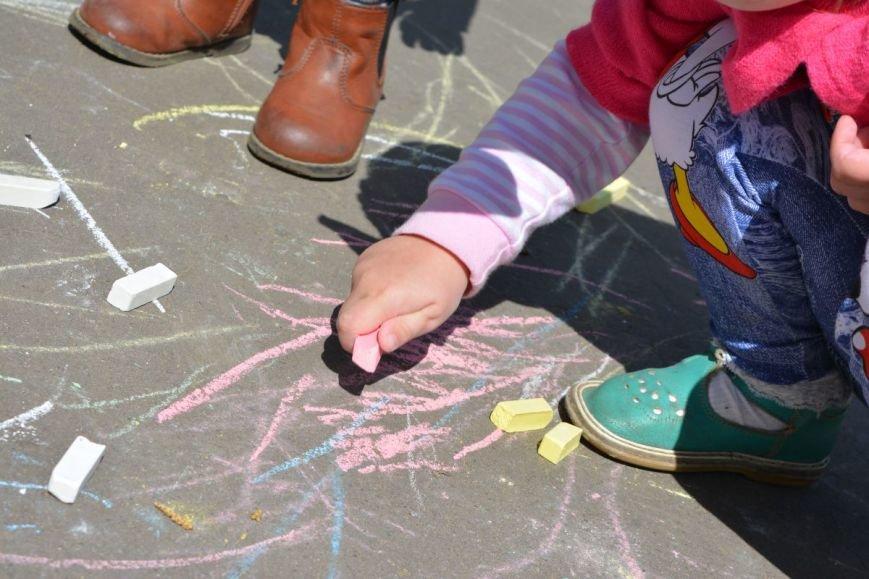 Детский город. Как новополоцкие малыши рисовали от души, фото-15