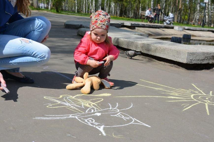 Детский город. Как новополоцкие малыши рисовали от души, фото-6