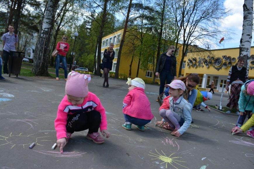 Детский город. Как новополоцкие малыши рисовали от души, фото-10