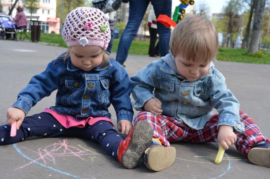 Детский город. Как новополоцкие малыши рисовали от души, фото-22