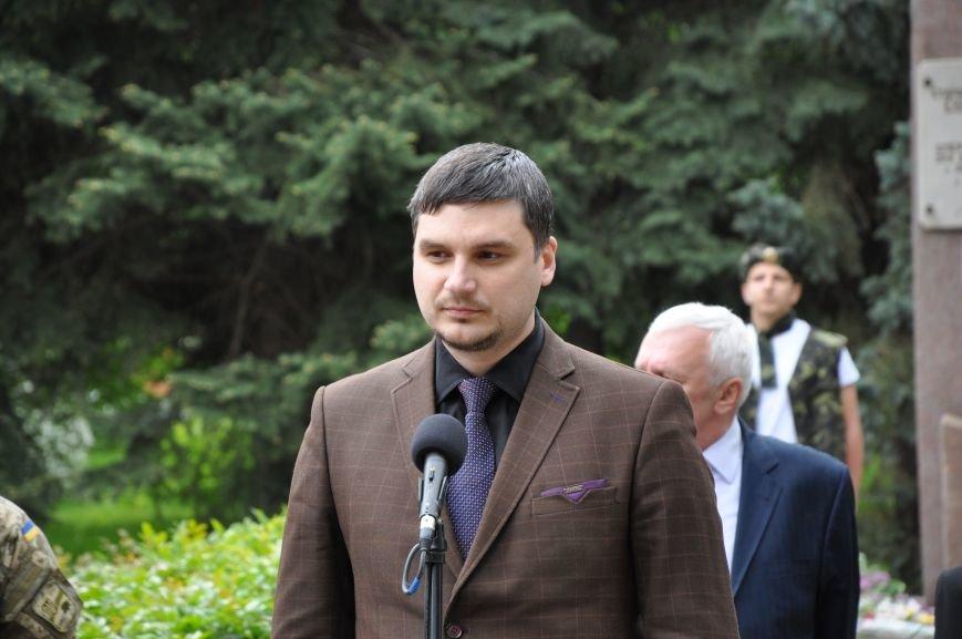В Краматорске состоялся митинг-реквием ко Дню памяти и примирения, фото-9