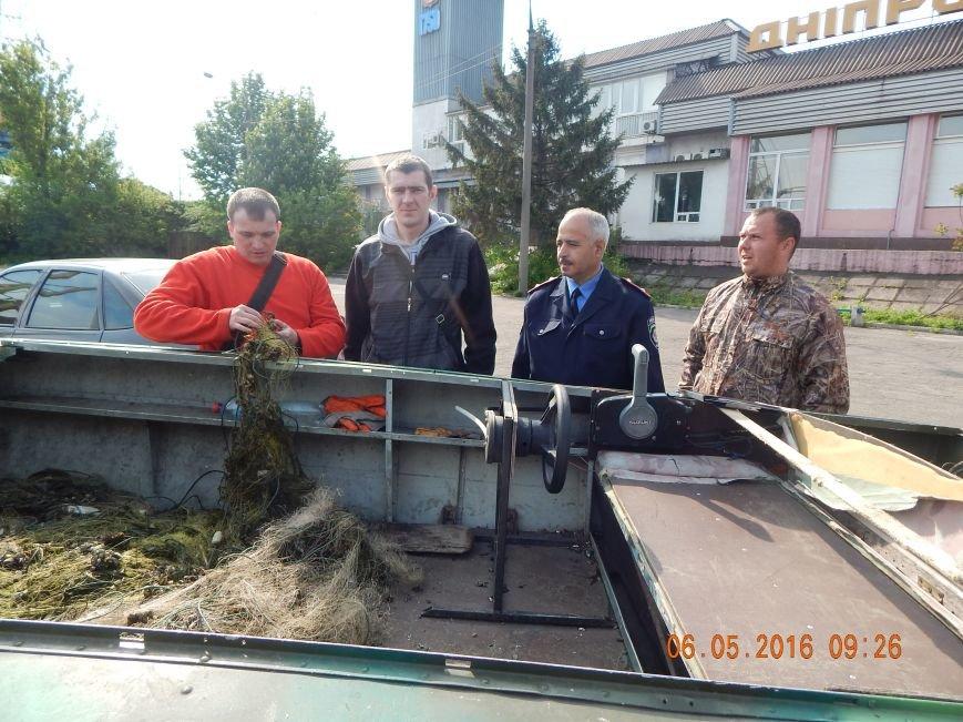 В Днепродзержинске браконьеры продолжают атаковать водные ресурсы, фото-4