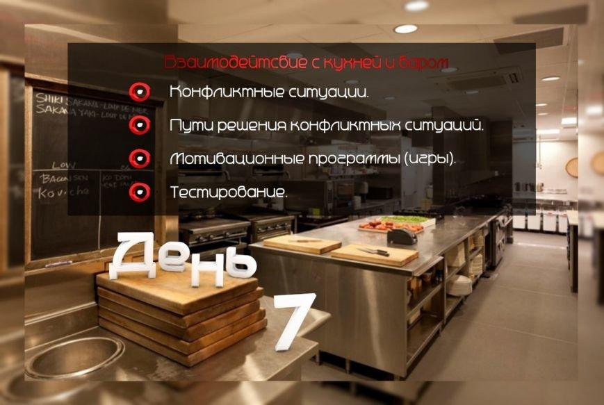 """Курс ресторанного обслуживания """"Стань официантом за 8 дней"""", фото-9"""