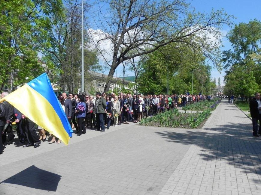 В Бердянске возлагали цветы в память о героях войны, фото-2