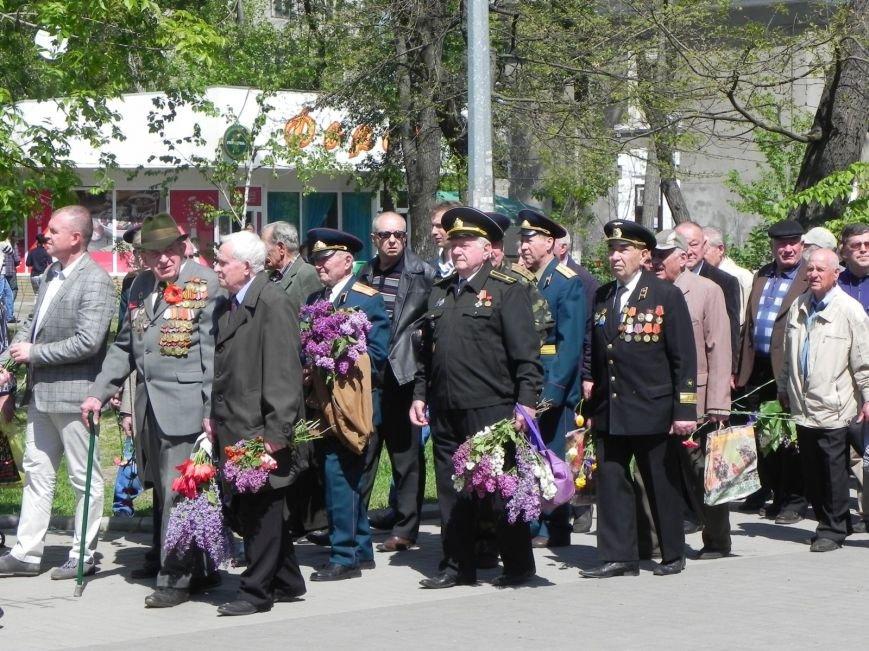 В Бердянске возлагали цветы в память о героях войны, фото-4