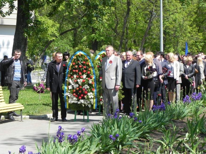 В Бердянске возлагали цветы в память о героях войны, фото-1