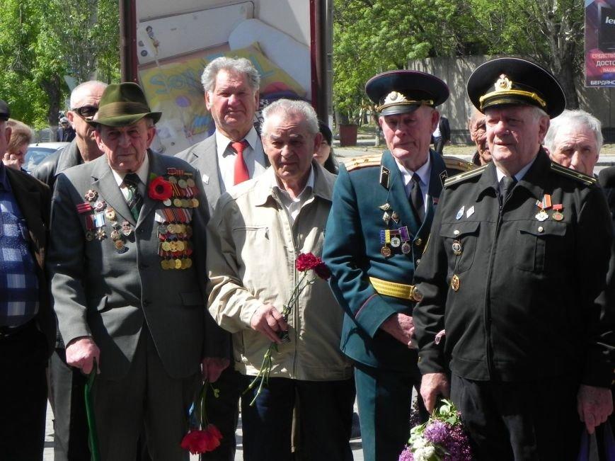В Бердянске возлагали цветы в память о героях войны, фото-7