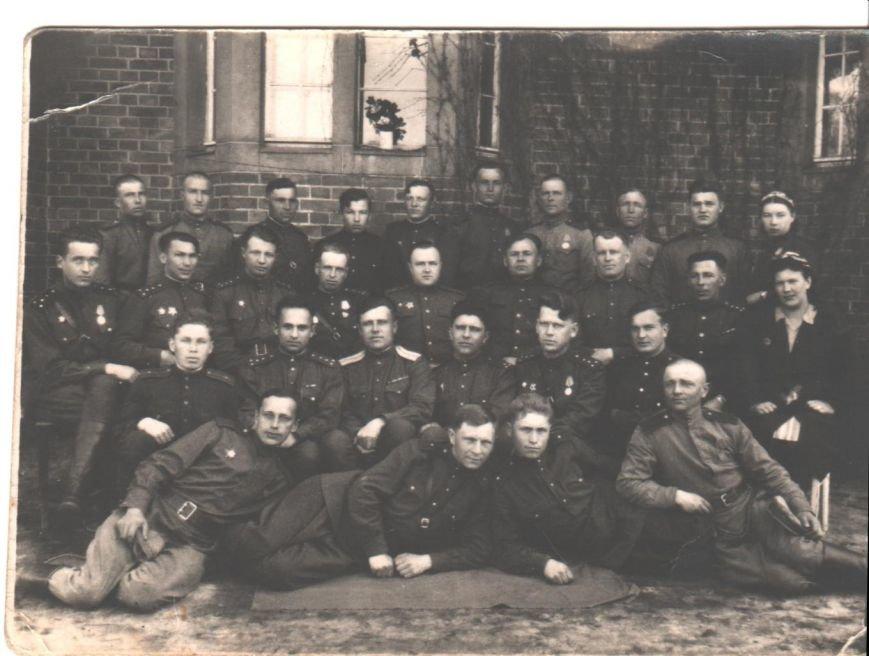 В день победы 09.05.1945 ОК 48 арм 3 Б.Фр