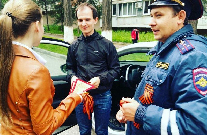 Акции «Георгиевская Ленточка» и «Письма Победы» прошли в Пятигорске, фото-3