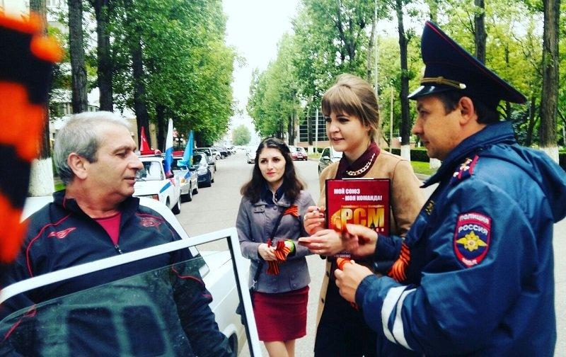 Акции «Георгиевская Ленточка» и «Письма Победы» прошли в Пятигорске, фото-4