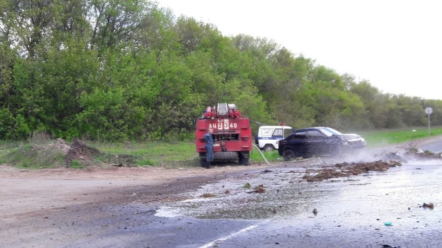 В Новоспасском районе столкнулись Лада Гранта и Рено Логан. ФОТО, фото-1