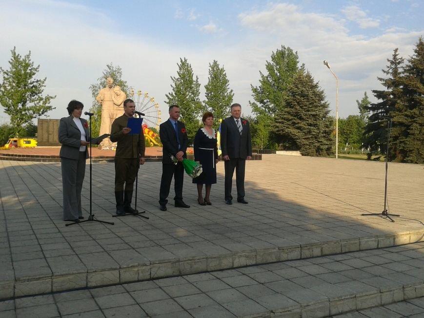 На митинге памяти в Терновке читали письма солдат времен Второй Мировой войны, фото-1