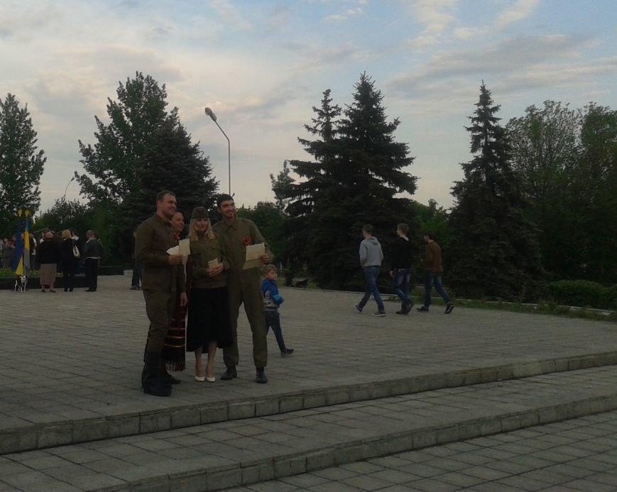 На митинге памяти в Терновке читали письма солдат времен Второй Мировой войны, фото-3
