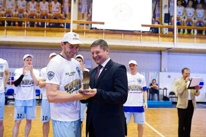 Баскетбольная команда клуба «Сахалин» - чемпион!, фото-1