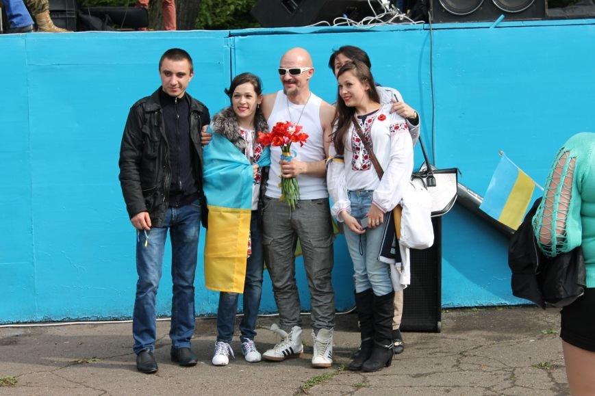 Сотні мешканців м. Селидове зібралися на патріотичному концерті, фото-23