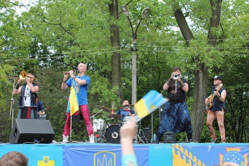 Сотні мешканців м. Селидове зібралися на патріотичному концерті, фото-17