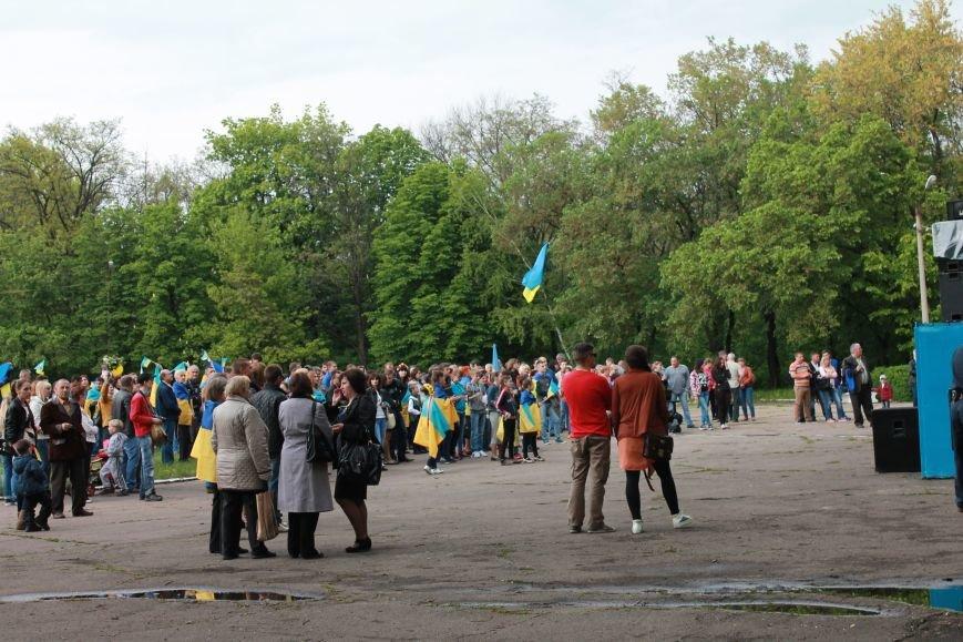 Сотні мешканців м. Селидове зібралися на патріотичному концерті, фото-27