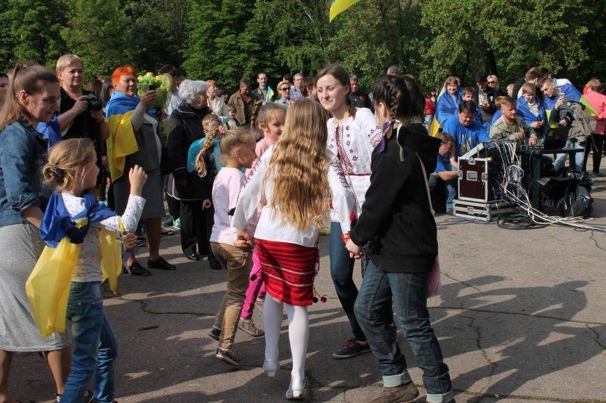 Сотні мешканців м. Селидове зібралися на патріотичному концерті, фото-29