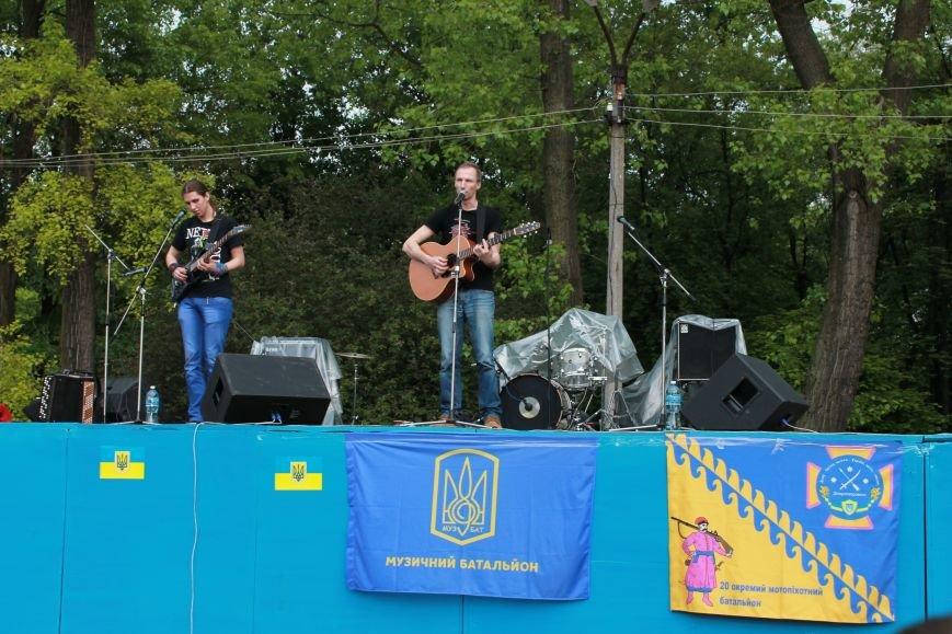 Сотні мешканців м. Селидове зібралися на патріотичному концерті, фото-34