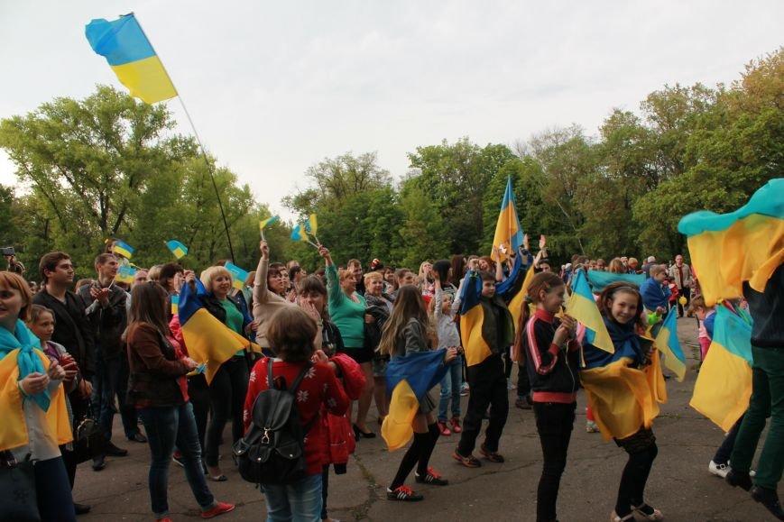 Сотні мешканців м. Селидове зібралися на патріотичному концерті, фото-7