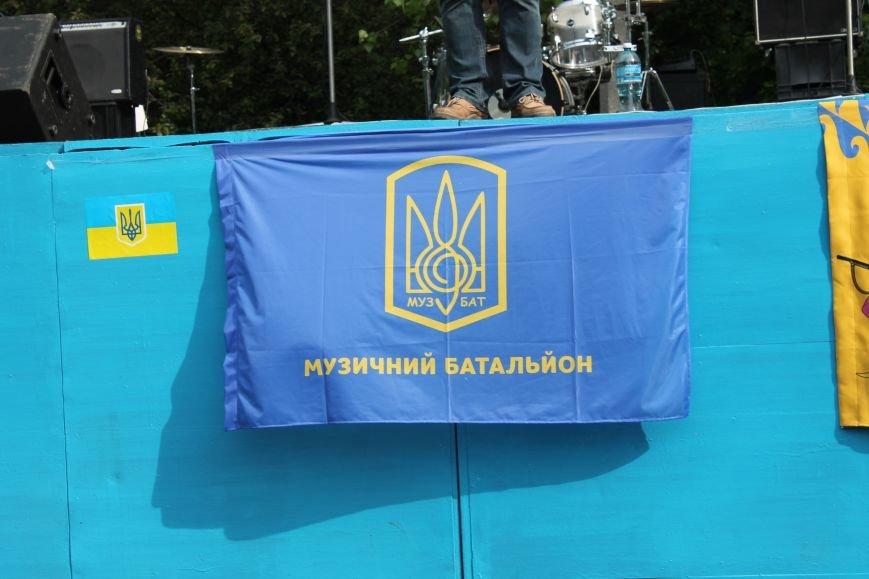 Сотні мешканців м. Селидове зібралися на патріотичному концерті, фото-36