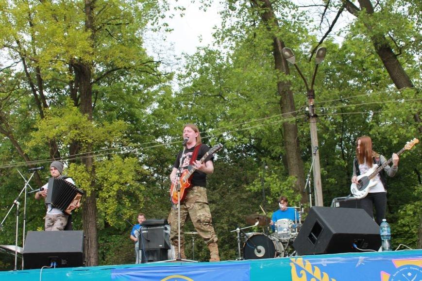 Сотні мешканців м. Селидове зібралися на патріотичному концерті, фото-39