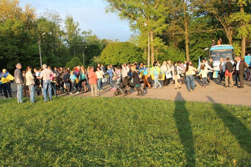 Сотні мешканців м. Селидове зібралися на патріотичному концерті, фото-48