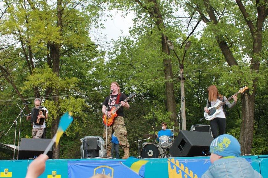 Сотні мешканців м. Селидове зібралися на патріотичному концерті, фото-41