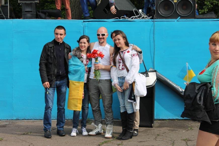 Сотні мешканців м. Селидове зібралися на патріотичному концерті, фото-46