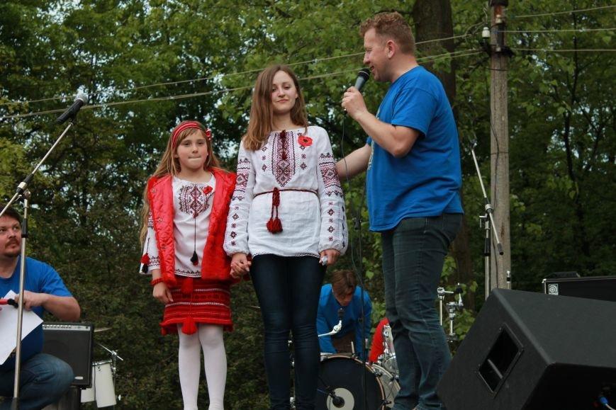 Сотні мешканців м. Селидове зібралися на патріотичному концерті, фото-14