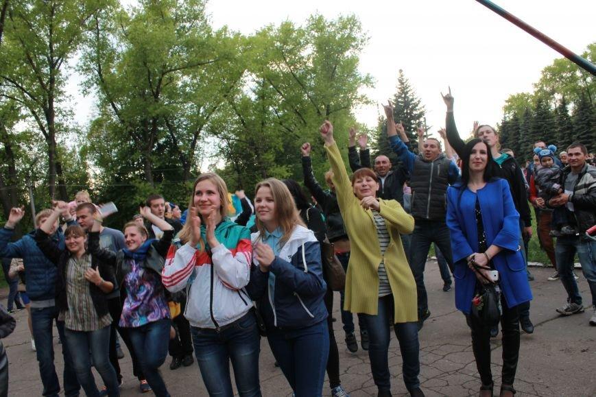 Сотні мешканців м. Селидове зібралися на патріотичному концерті, фото-9