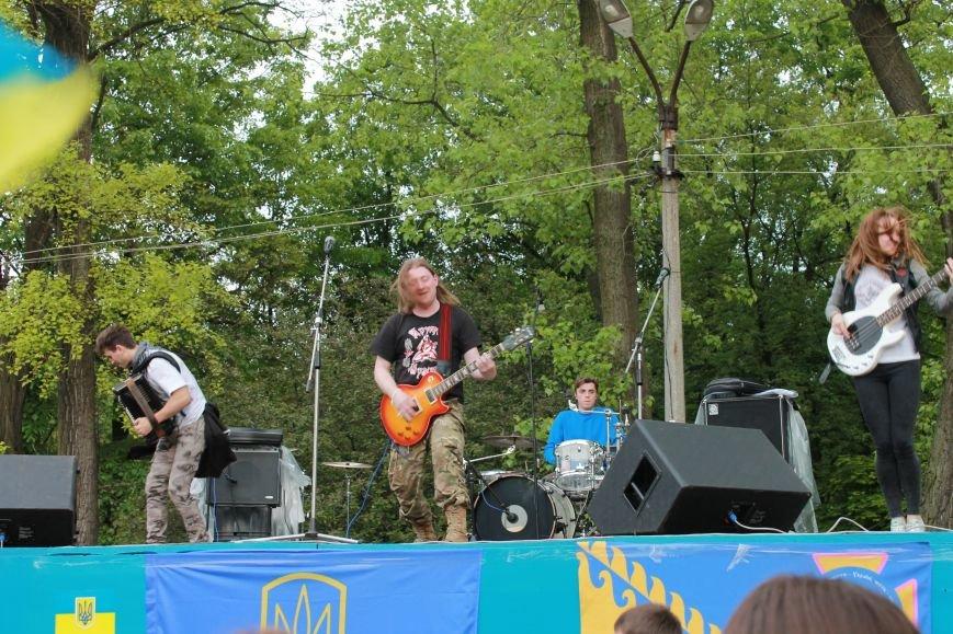 Сотні мешканців м. Селидове зібралися на патріотичному концерті, фото-8
